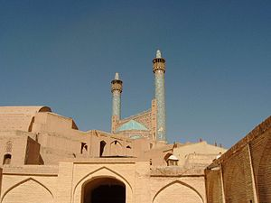 Mosque in Isfahan (backside)