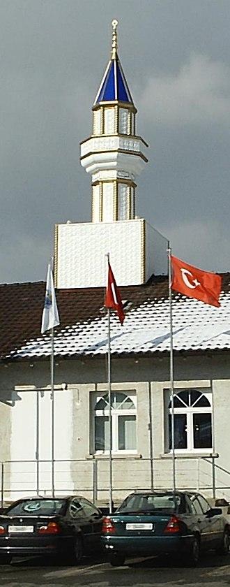 Wangen bei Olten - Minaret and Mosque of the Olten Turkish cultural association