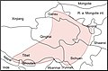 Moschus chrysogaster map.jpg