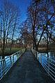 Most přes Mlýnský náhon a cesta k rybníku Kolečko, Tovačov, okres Přerov.jpg