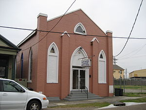 Black Pearl, New Orleans - Mount Moriah Baptist Church in the Black Pearl