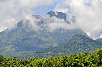 Negros Oriental - Mount Talinis (also known as the Cuernos de Negros), located southwest of Valencia, is the second highest volcanic mountain in Negros.