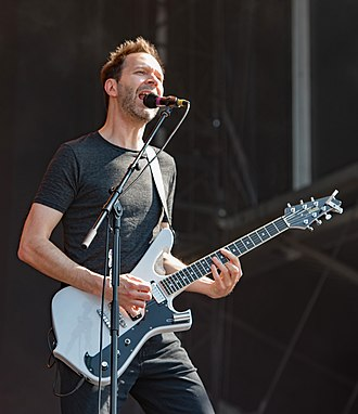 Paul Gilbert - Image: Mr. Big Wacken Open Air 2018 18