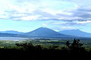 Lake Baao - Lake Baao as seen from Bula, Camarines Sur