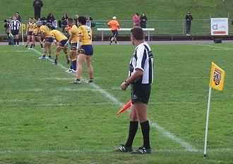 Mount Albert Lions - Mt Albert kick off in the 2010 grand final