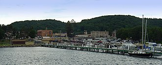 Munising, Michigan - View from Munising Harbor