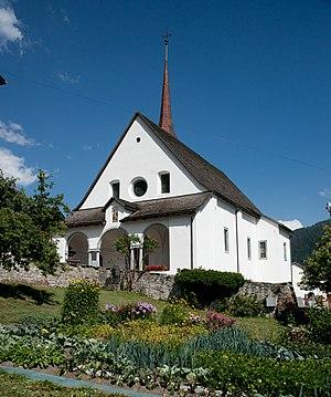 Goms, Valais - Church of St. Maria