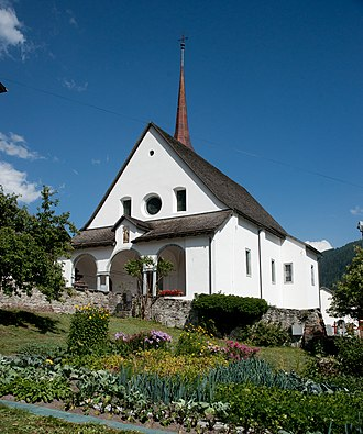 Goms, Valais - Church of St. Maria