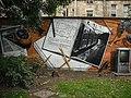 Mural, Kelvingrove Park. 15 - Trains - geograph.org.uk - 1517035.jpg