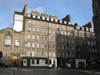 Robert Mylne (mason) - Milne's Court on Edinburgh's Royal Mile