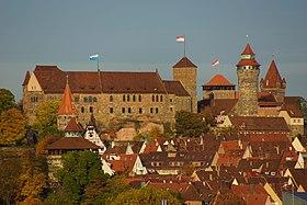 Nürnberger Burg im Herbst von SüdWest 05.JPG