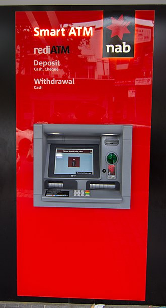 National Australia Bank - NAB bank ATM