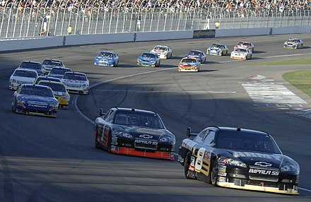 2008 UAW-Dodge 400 NASCAR Cup Series race at Las Vegas Motor Speedway NASCAR at Nevada.jpg