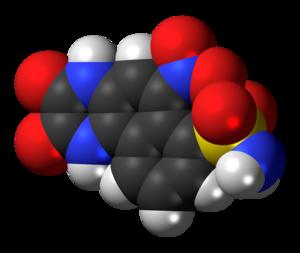 NBQX - Image: NBQX molecule spacefill