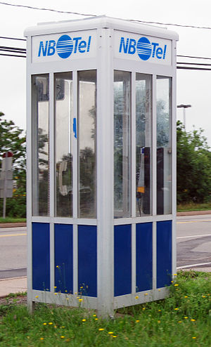 Bell Aliant - NBTel Phone Booth