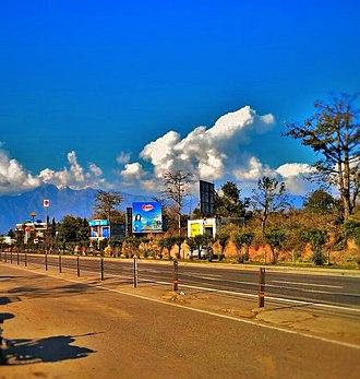 Jammu-Srinagar National Highway - NH44 near Jammu
