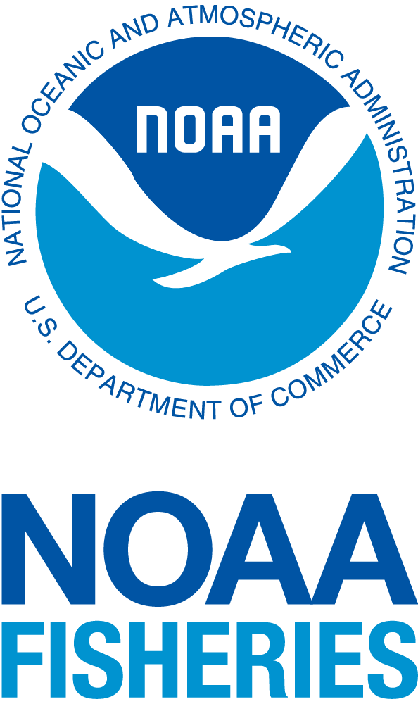 NOAA Fisheries logo vertical