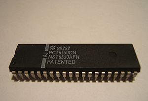 16550 UART - NS16550AFN