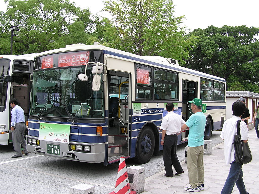 Nagoya City Bus Mono Bus 20050924