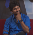 Nani at an interview for the film devadasu.png
