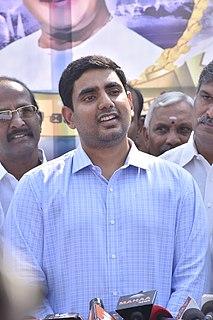 Nara Lokesh Indian politician