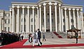 Narendra Modi inspecting the Guard of Honour, during the Ceremonial Reception, at the Qasr-e-Millat, in Dushanbe, Tajikistan on July 13, 2015. The President of Tajikistan, Mr. Emomali Rahmon is also seen.jpg