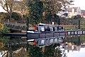 Narrowboat on the River Nene near Wansford station - geograph.org.uk - 1563496.jpg
