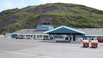 Kujalleq - The Narsarsuaq Airport.