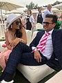 Naseem and wife social event.jpg