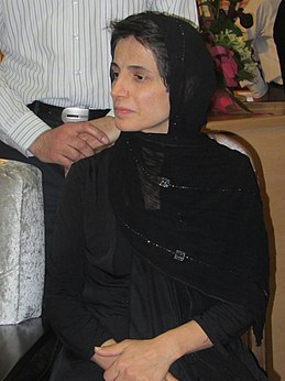 Nasrin Sotoudeh prominent human rights female lawyer in Iran