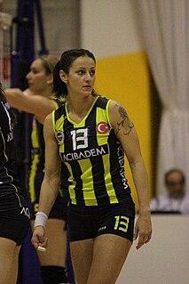 Nataša Osmokrović female volleyball player from Croatia