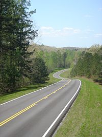 Natchez Trace Parkway Elevation Map.Natchez Trace Parkway Travel Guide At Wikivoyage