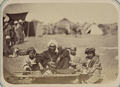 Native Festival for the New Year's Holiday, Sail Sali Nau. Vendor of Sweet Pilaf, or Rice Porridge WDL10779.png