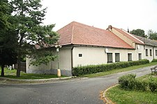 Native house of Blanka Wedlichová-Waleská in Cerhenice, Kolín District.jpg