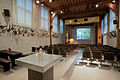 Naturalis Biodiversity Center - Museum - Auditorium with antlers on the wall.jpg