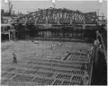 Naval Air Station, San Pedro, May 3, 1945 - Inboard End of Basin No. 1 with Construction Bridges in Place - NARA - 295541.tif