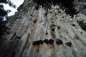 Motta Sant'Anastasia - Volcanic plug of Motta Sant'Anastasia.