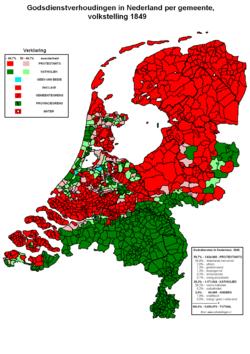 katholicisme versus protestantisme netherlands: