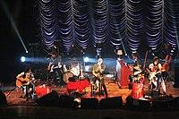 I Negrita in concerto durante l'Unplugged Tour 2013 al Teatro Duni di Matera.