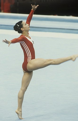 Nellie Kim - Kim at the 1980 Summer Olympics