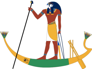 Egyptian god of ferrymen
