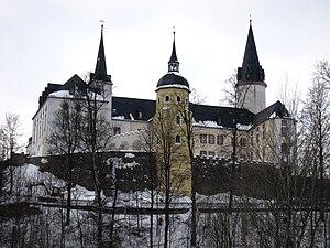 Neuhausen, Saxony - Purschenstein Castle, February 2010
