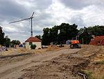 Neustadt-Glewe Abbau Behelfsbrücke B191 über Schleusenbecken 2013-08-27 7a.JPG