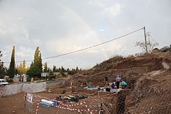 Neve David prehistoric excavation 2015.jpg