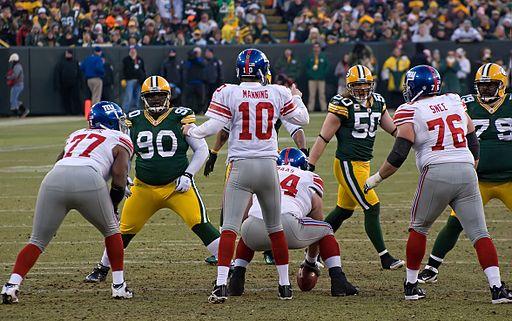New York Giants vs Green Bay Packers 4