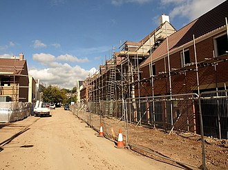 Norton Fitzwarren - New housing in Station Road, on the site of the former Taunton Cider Company works