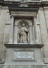 Statue of John Henry Newman