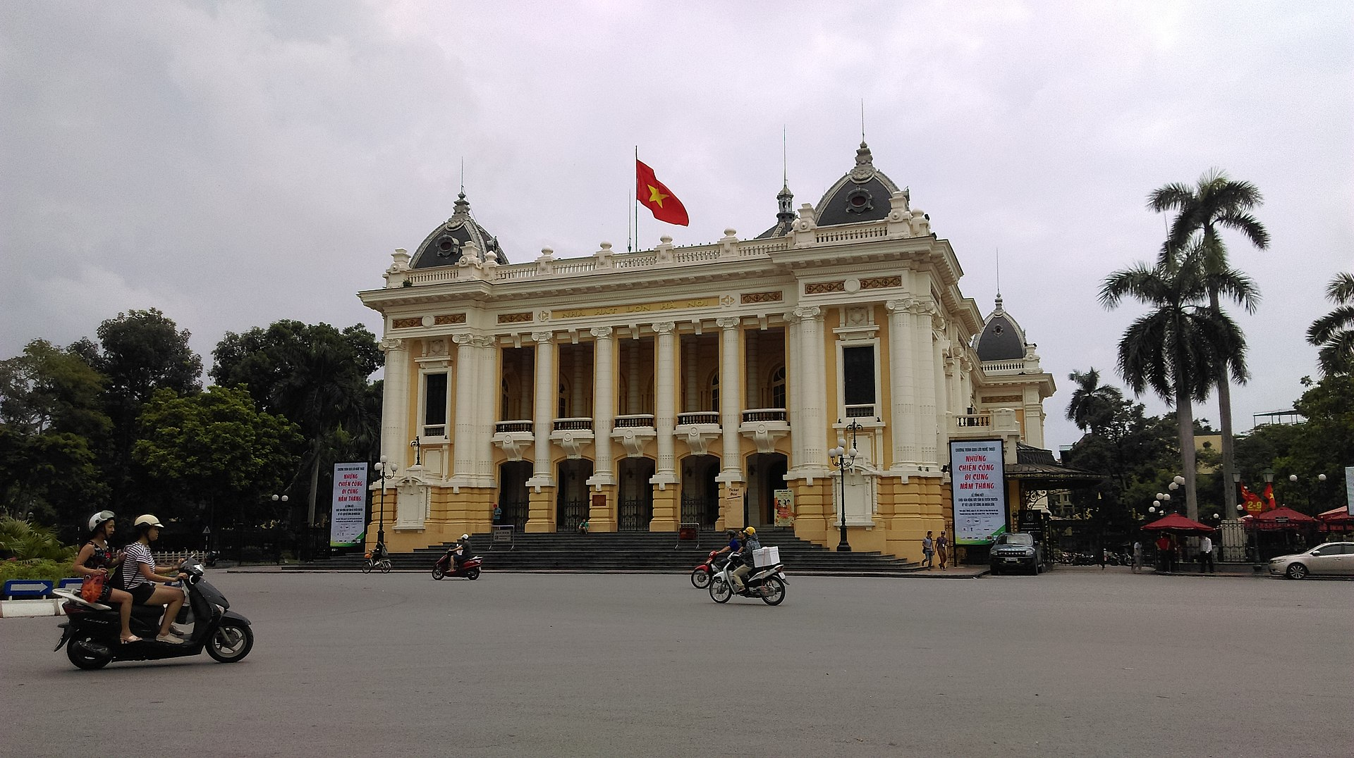 Nhà hát lớn Hoàn Kiếm - Hà Nội. Ảnh: Wikipedia Tiếng Việt