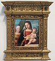 Niccolò pisano, madonna col bambino e santa caterina d'alessandria, 1510-15 ca. 01.JPG