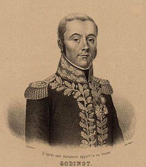 Nicolas Godinot - General of Division Nicolas Godinot.